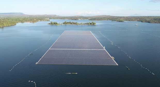 Egat plans world's largest floating solar farm in June