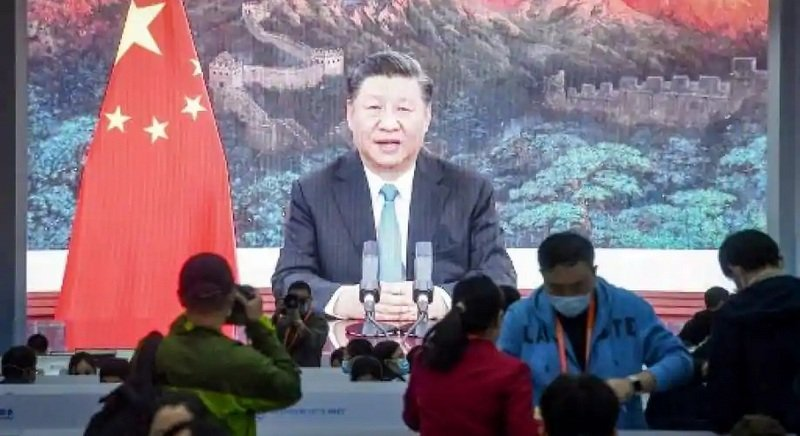 Chinese President Xi Jinping will open an all-virtual World Economic Forum today. Photo: AFP.