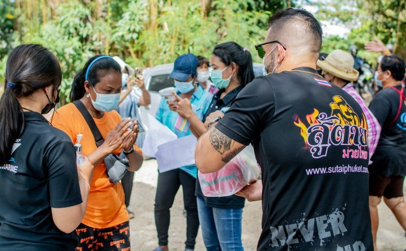 People from all walks of life have been rolling up their sleeves and getting involved by volunteering in order to help the local communities.