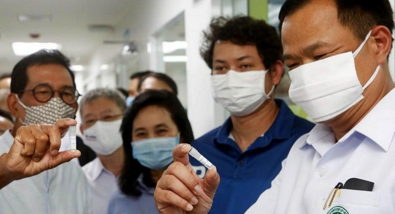 Human vaccine trials to start in Thailand next month