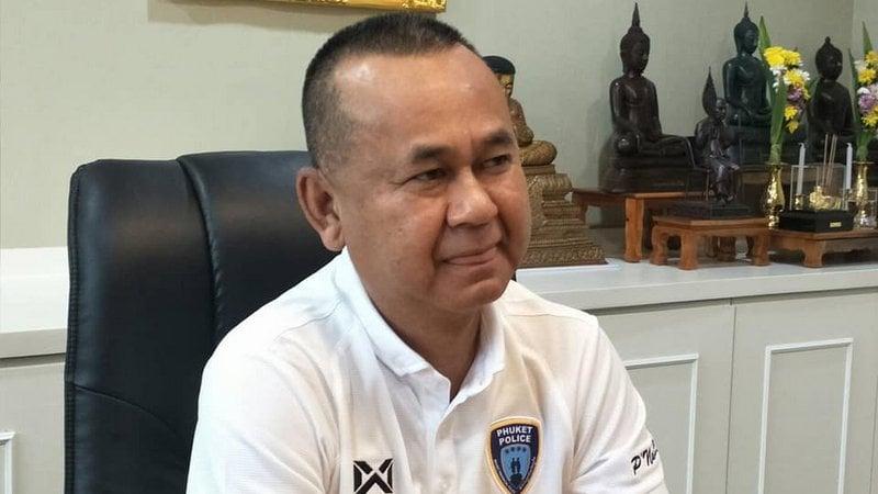 Phuket Provincial Police Commander Maj Gen Pornsak Nuannu. Photo: PR Phuket