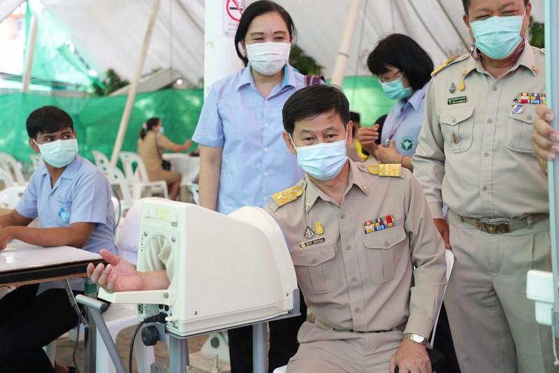New Phuket Provincial Health Office Chief Dr Kusak Kukiattikoon arrived in Phuket today (Mar 8). Photo: PPHO