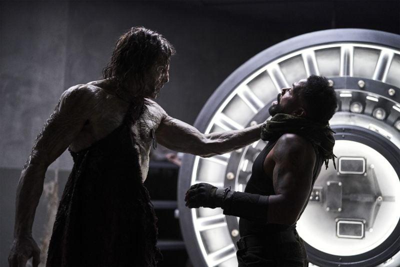 Richard Cetrone and Omari Hardwick in Army of the Dead (2021). Image: IMDB