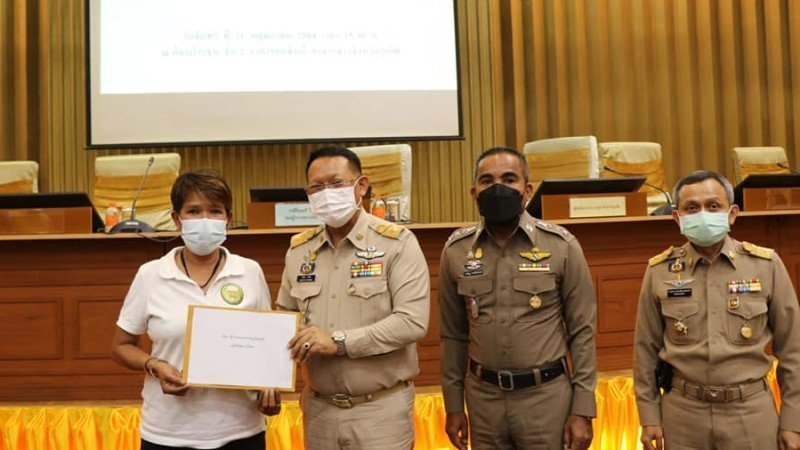 The formal requests were presented at a meeting at Provincial Hall yesterday (May 31). Photo: PR Phuket