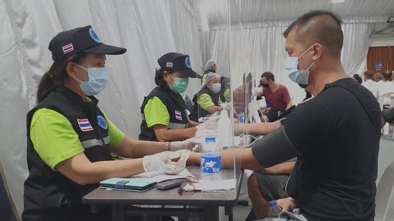 The process for foreigners proceeded smoothly at Angsana Laguna Phuket resort yesterday (June 3). Photo: Laguna Phuket
