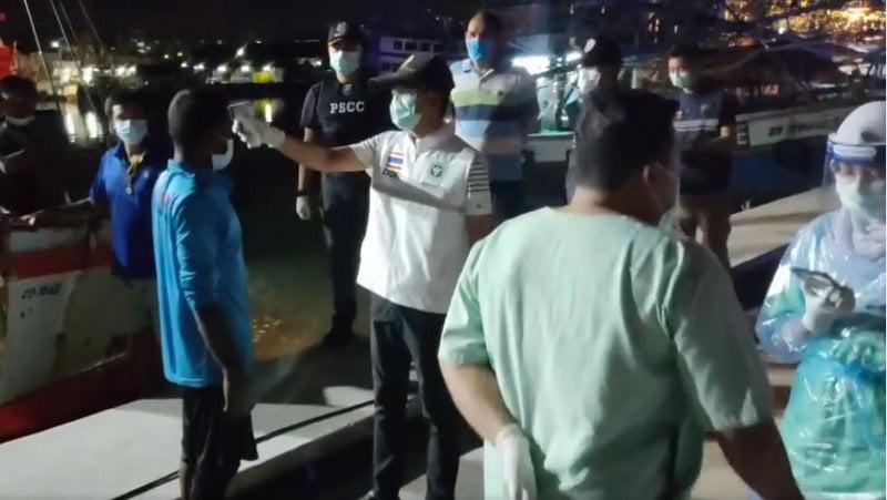 Indonesian fisherman rescued by Phuket fishing boat after nine days adrift