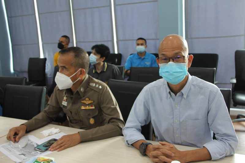 The breakdown was explained during a meeting on Tuesday (July 6). Photo: PR Phuket