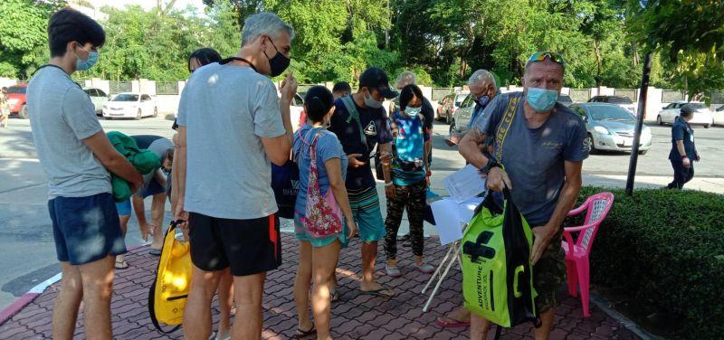 Tourists are back to Chalong Pier. Photo: Eakkapop Thongtub
