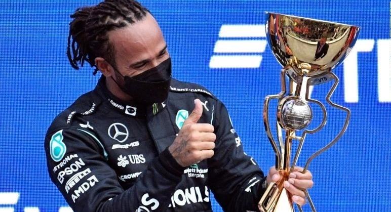 Hamilton wins, heartbreak for Norris in Russian GP downpour