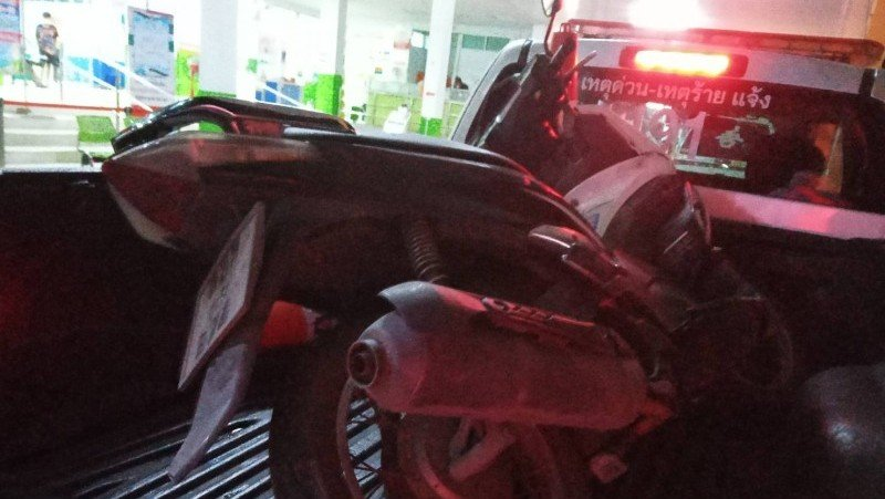 One teen killed, two survive, after motorbike hits tree