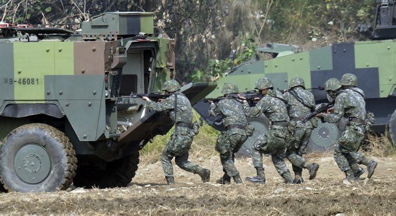 US special forces quietly training Taiwanese: official