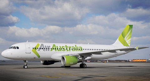 Air Australia is to become the new name and branding for Strategic Airlines. This computer graphic image shows one of the carrier's A330-200s in Air Australia colours.