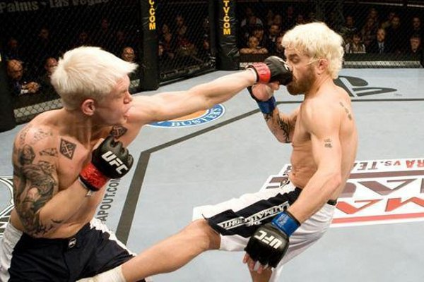 Junie 'The Lunatik' Browning during his short career with UFC.