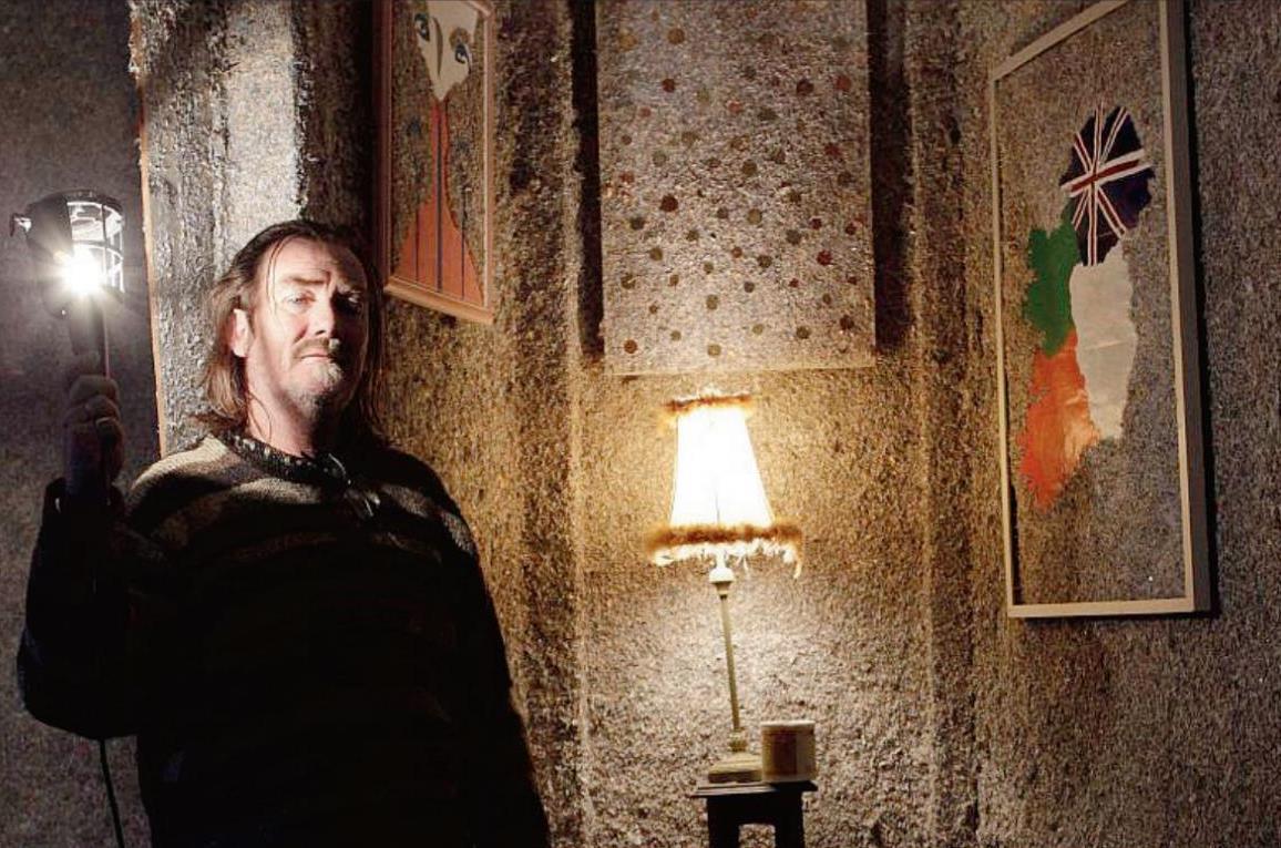 Irishman builds 'billion euro home' – literally