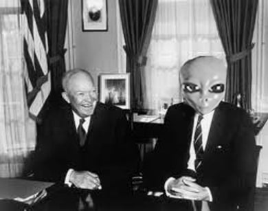 Former US President Dwight Eisenhower 'met with aliens', says former consultant