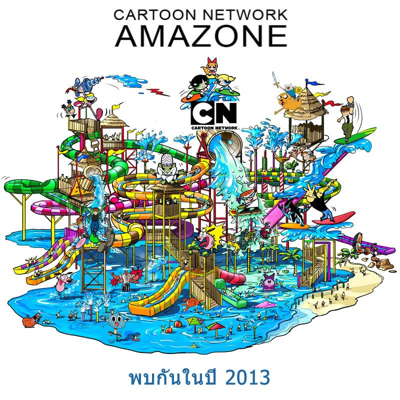 World's first Cartoon Network water park to open in Thailand