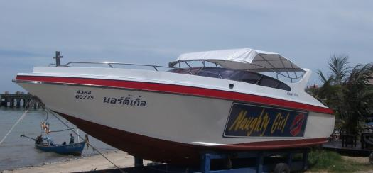 REFURBISHED 33 FOOT SPEED BOAT FOR SALE