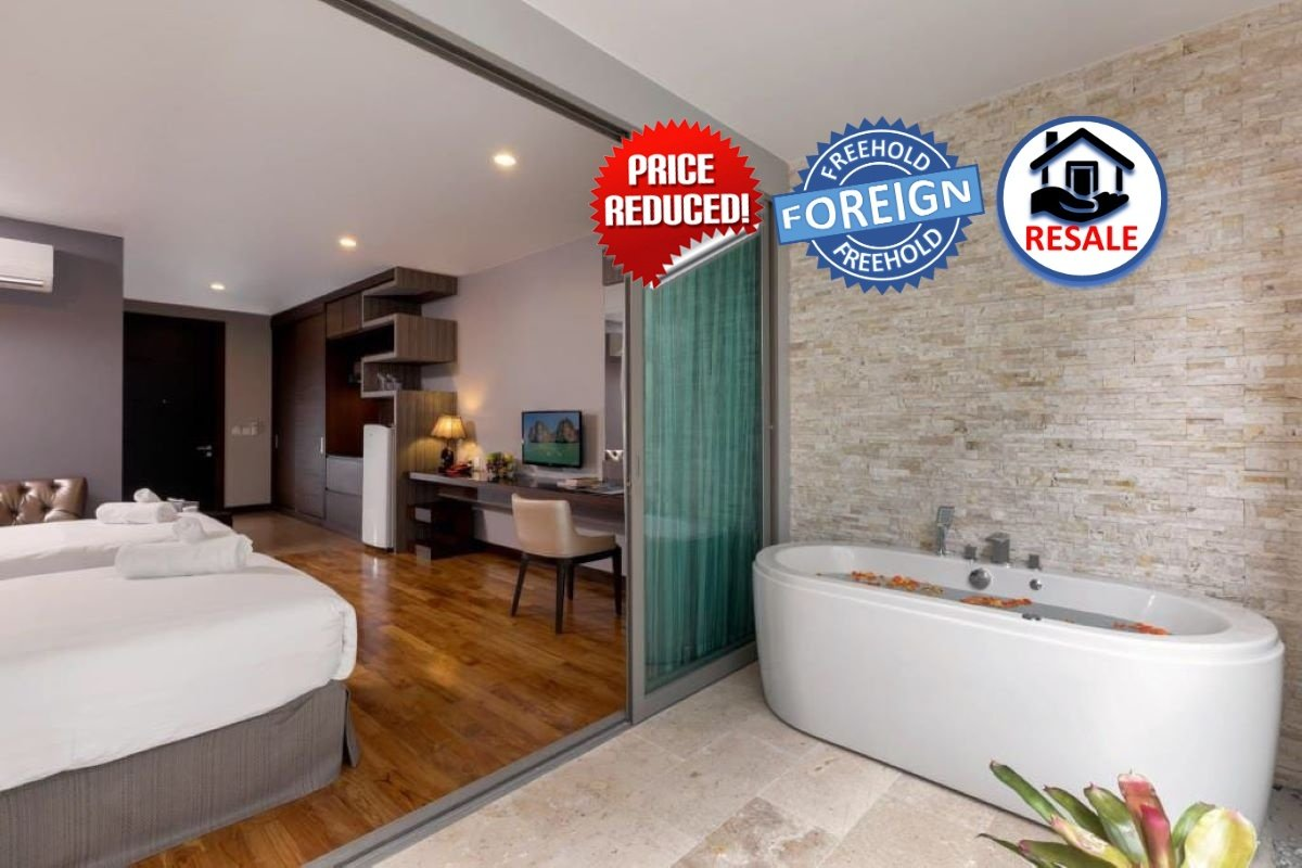 1 Bedroom Foreign Freehold Studio Condo for Sale at The Regent near Bang Tao Beach, Phuket