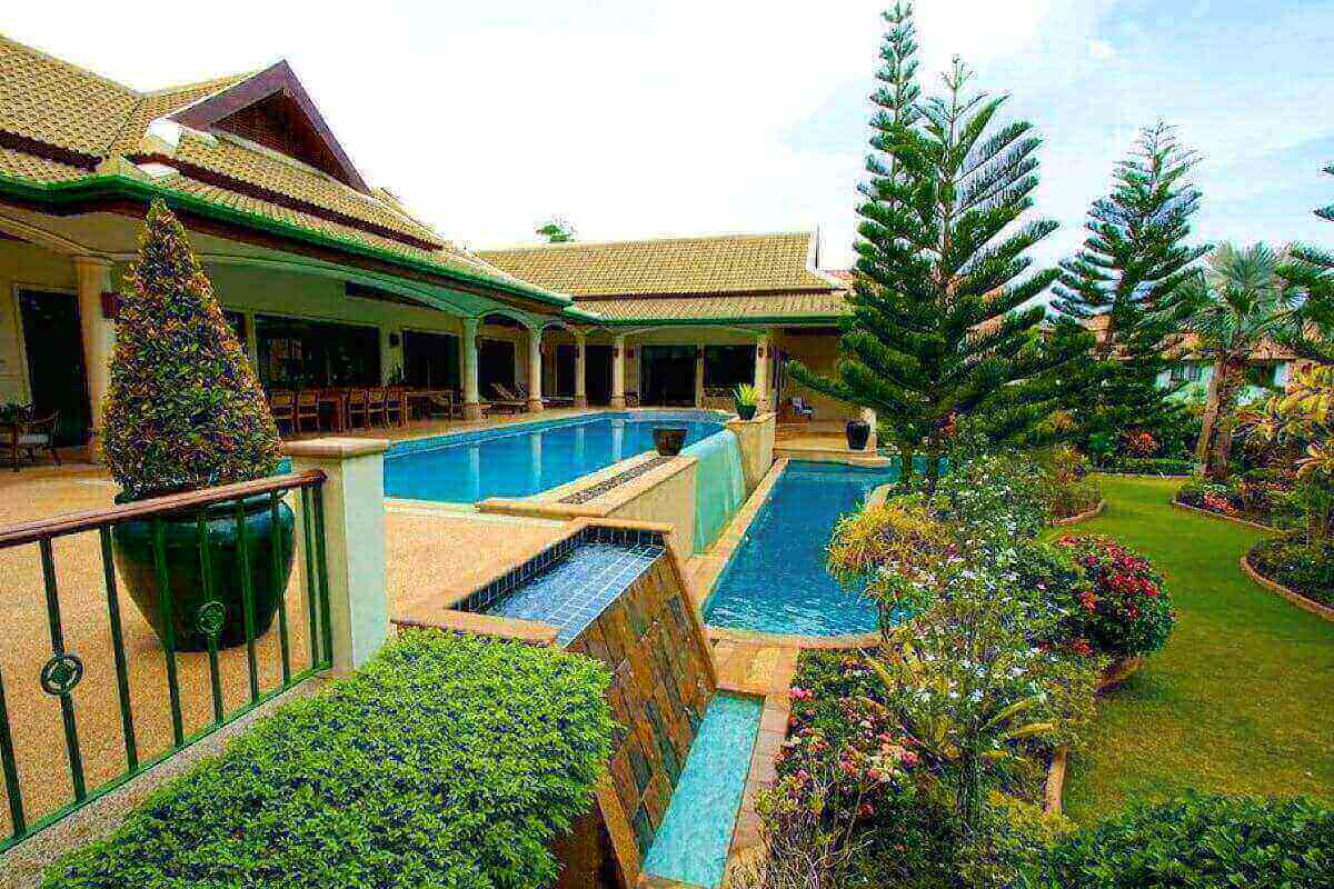 5 Bedroom Mountain View Pool Villa for Sale near Nai Harn Beach, Phuket